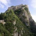 gings zum Angelokastro, einer alten Festungsanlage.