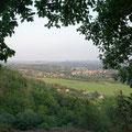 Blick Richtung Sächsische Schweiz