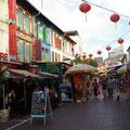 Also schiebe ich noch China Town in meine Tour ein...