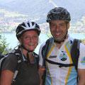 Doch gekommen waren Martin und ich auch zum Biken.