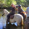 Mit dem Pferd gehts natuerlich auch!