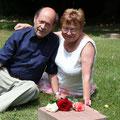 Sehr emotional war es dann am Grab des leiblichen Vaters meiner Mutter, was dann ja auch mein Opa ist.