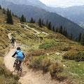 Der Hackelberger Trail ist flowing und macht einfach nur Spaß.
