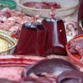 Blut in Beuteln... naja...