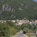 Bei der nächsten Radtour bleibe ich auf der Straße... Auf dem Weg zum Pantokrator ist aber erstmal dieses Bergmassiv zu überwinden.
