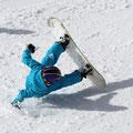 Bei dem Snowboarder weiß man es nicht so genau... :-)