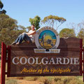 Coolgardie ist die eigentliche Geburtsstadt des Goldes. Hier wurde mal das erste Gold gefunden.