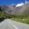 gehts Richtung Milford Sound