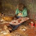 Viele haben sich der Kunst des Malens verschrieben.