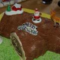 ... und einer Weihnachtstorte... Lecker!!!!