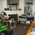 Der WG-Computerraum... perfekt fuer mich... Die Computer sind immer an und online...