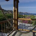 Blick auf die Bucht von Taganga von meinem Hostal aus.