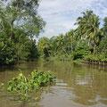 Deutlich ruhiger geht es in den Seitenarmen des Mekongs zu.
