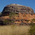 Typisch fuer die Bungles sind diese bienenkorbaehnlichen Felsformationen.