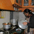 Auch wenn die Küche in etwa aussieht wie bei uns.