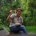 Spagettis im Regenwald... mhhhhh!!!!