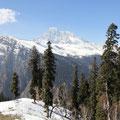 Von seinem Gipfel aus entdeckte man übrigens den K2.