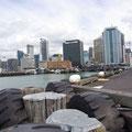 ...die Innenstadt von Auckland ist nicht wirklich spannend...