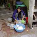 Auch mit dem Geschirr darf man nicht so kleinlich sein... Hygiene wird von uns vollkommen überbewertet... :-)