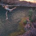 ... oder springen!