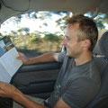 Da kann man beim Fahren echt lesen...