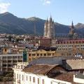 Man kann ueber die gesamte Altstadt schauen.