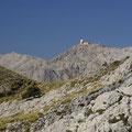 Das ist der höchste Berg von Mallorca, der Puig Major.