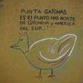 Er heisst Punta Gallinas.