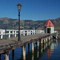Pier in Akaroa