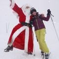 Begegnung mit dem Weihnachtsmann...