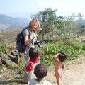 Ein besonders rührendes Erlebnis war die Begegnung mit diesen Kindern.