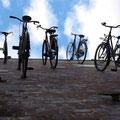 Dort fahren nicht nur Fahrraeder die Waende hoch...