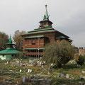 Was man sich in Srinagar anschauen muss, ist die Moschee Khanqah Shah-i-Hamadan.