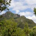 Dies ist der Berg...