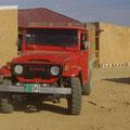 So, dann wollen wir doch mal raus in die Sanddünen fahren...