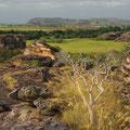 Im Kakadu NP gibt es auch Felsen,...
