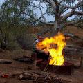 Ich finde, unser Feuer kann sich sehen lassen!