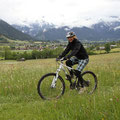 So hätte es aussehen sollen, unser Bikewochenende in Saalbach.