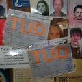 2 Studentenausweise der Technischen Universitaet Dresden sind ja schonmal ein Anfang! So sah meiner auch mal aus!
