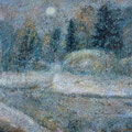 Декабрьский снег.1996г.,бум.,акв.,гуашь,паст. 52х66