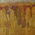 """Смыслова А.И. """"Осень золотая"""". монотипия 40х50 2012 г."""