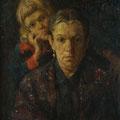 """Модоров Ф.А. """"Портрет матери"""". 1915 г. 66,5х48,5, холст на картоне, масло."""