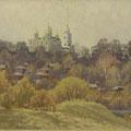 Модоров О.Н..владимирский холм 59х160 х.м 2001г.