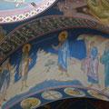 """Густов Э.В. """"Святый Иоанн Предтеча указал Христа"""".Роспись храма в Иордании.  2011 г."""
