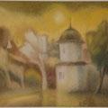 """Ляпин К.А. """"Солнечный день"""". 2004г. картон,пастель 33х39.jpg"""