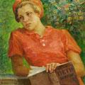 """Модоров Ф.А. """"Марианна"""". 1939 г. 107х78, х. м."""
