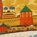 Бритов К.Н.. .Троице-Сергиева лавра. 1993 х.м. 70, 3х120