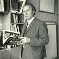 Н. Модоров в мастерской. 1970-е гг.