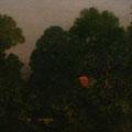 """Изотов М.Н. """"Вечер в Бунырево."""" 2010. Холст, масло 82х152 ИРРИ, Москва"""