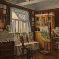 "Морозов А.В.""Интерьер. Наша комната"". 1963. Х.,м. 59х48,5. МИХМ"